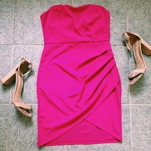 Fuchsia mini party dress